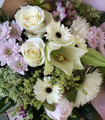 Mixed Bloom Bouquet Pastels Deluxe