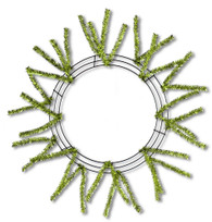 Pencil Work Wreath - Metallic Lime (XX751137)