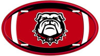 University of Georgia Bulldog Oval License Plate