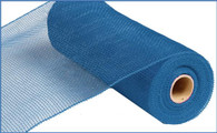 "10"" Deco Poly Mesh: Denim Blue"