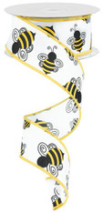 "1.5"" x 10yds Bumble Bee Ribbon"