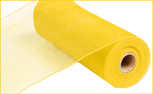 Deco Mesh - Yellow - 10 inch x 10yds (RE130229)