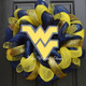 Deco Mesh - Yellow used in this Deco Mesh West Virginia WVU Wreath