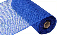 "10"" x 10yds Poly Burlap Mesh: Royal Blue"
