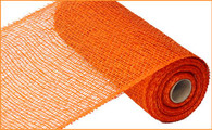 "10"" x 10yds Poly Burlap Mesh: Orange"
