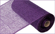 "10"" x 10yds Poly Burlap Mesh: Purple"