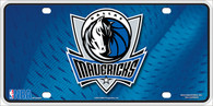 Dallas Mavericks Embossed Metal License Plate