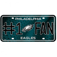 Philadelphia Eagles NFL Fan Metal License Plate