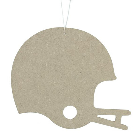 9 75 Quot Wooden Football Helmet Cutout Unfinished