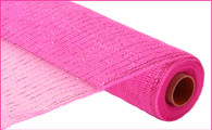 "21"" Deco Poly Mesh: Metallic Hot Pink"