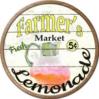 "12"" Farmer's Market Lemonade Sign"
