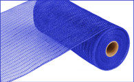 "10"" Deco Poly Mesh: Metallic Royal Blue"