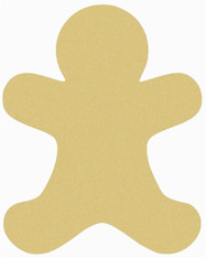 """12"""" Gingerbread Man, Unfinished"""