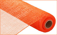 "21"" Deco Poly Mesh: Metallic Orange"