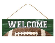 "15"" Welcome Football Sign"