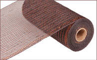 """Metallic Chocolate with Copper Foil - 10"""" X 10Yd (RE1301E2)"""