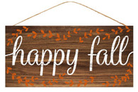 "12.5"" Rustic Happy Fall Sign"