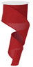 "Red Royal Faux Burlap Ribbon - 2.5"" x 10Yd (RG127924)"