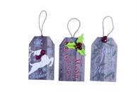 Nostalgic Christmas Tag Ornaments