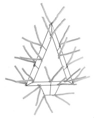 White Pencil Open Tree Work Frame (XX765327)