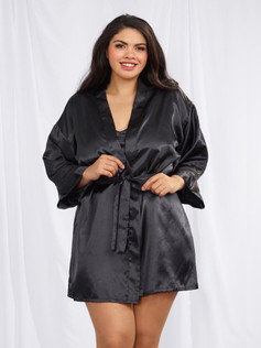 Charmeuse Robe Set