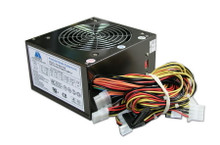 350W, (ATX/12V) 12cm Smart Fan PSU, P4/AMD (Titanium Color), 30-days Warranty for Clearance Item!