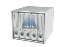 "5-in-3 ATA133 Backplane Module (beige), aluminum trays, steel frame, fits in three 5.25"" bays. 150MB/s max speed."