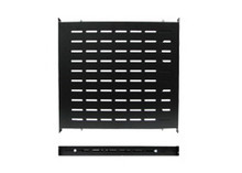 "Flat Shelf - 19"" W., Tool-less with 23.6"" to 35.4"" D (KS-TTS35A) Color: Black"