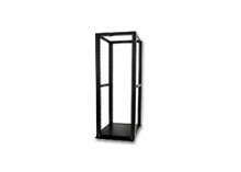 25U NetRack (KS-E25B), Black, 4-Post Open Air Rack. (Free Shipping)