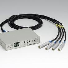 Hamamatsu Lightningcure UV-LED module LC-L1 V5 with 4 LED heads.