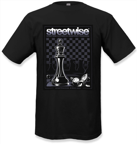 Streetwise Power Moves T-Shirt in black.