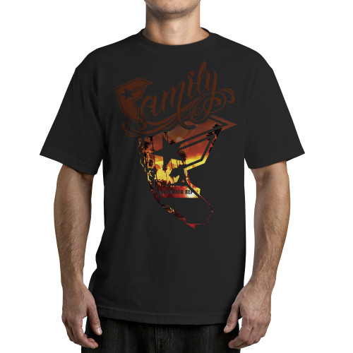 Famous Stars and Straps Wild Sunset T-Shirt