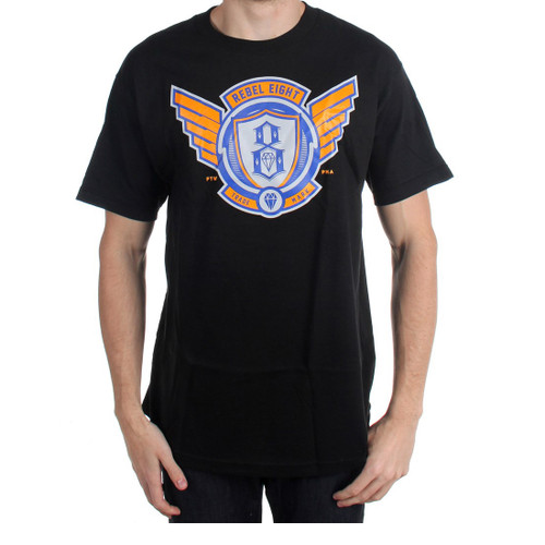 Rebel8 Avi8tor T-Shirt in black