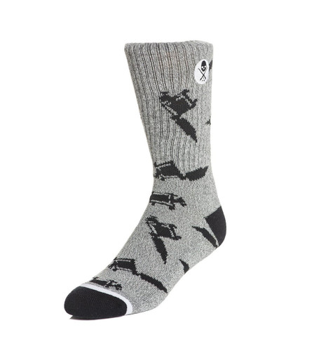 Sullen Machine Socks Grey