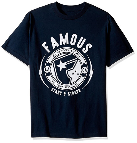 Famous Stars and Straps Shocker T-Shirt NVY