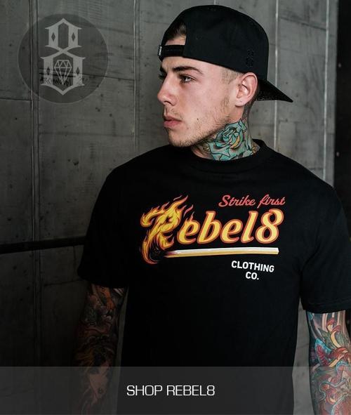 Rebel8 Clothing