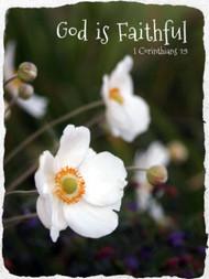 God is Faithful  - 5 Blank Notecards