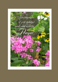 """We thought of you today... - 5"""" x 7"""" KJV Greeting Card"""