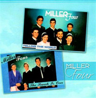 The Search is Over- Telling the World CD by the Miller Four, A cappella Mennonite music