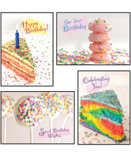 KJV Boxed Cards - Birthday, Birthday Sprinkles