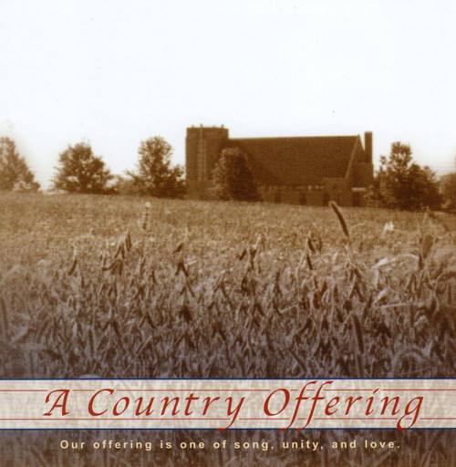 a country offering cd by bluffton ac choir