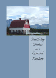 "Birthday Wishes for a Special Nephew - 5"" x 7"" KJV Greeting Card"