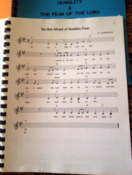 Hope & Peace Vol 5 Sheet Music - Singables KJV Scripture Songs