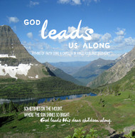 God Leads Us Along CD by Apostolic Christian Men's Sing