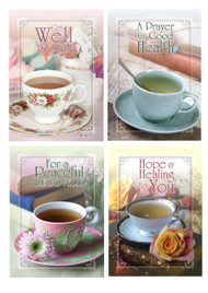 KJV Boxed Cards - Get Well, Tea for Two