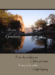 "As you Graduate - 5"" x 7"" KJV Greeting Card"