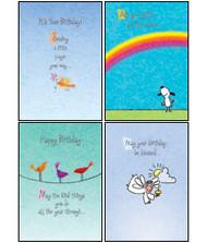 KJV Boxed Cards - Birthday for Child - Whimsical Wishes