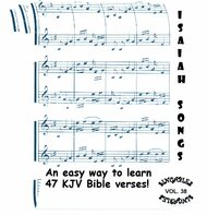 Isaiah Songs CD - KJV Bible Verse Scripture by Heartsong Singables