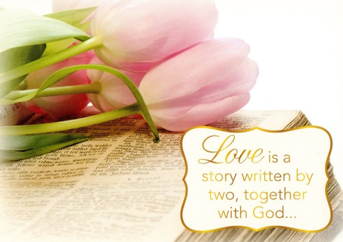 Kjv boxed cards anniversary united in love by heartwarming