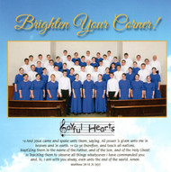 Brighten Your Corner CD by Joyful Hearts Chorus